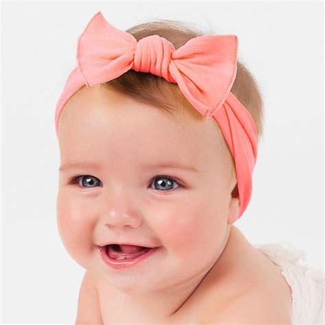 Baby Headband 16 2016 new cotton elastic newborn baby solid color