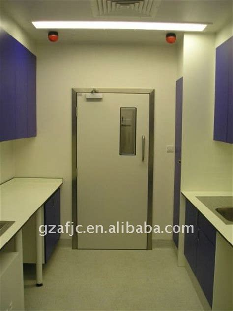 air tight door design okm hospital door with rubber seal pvc doors and frames