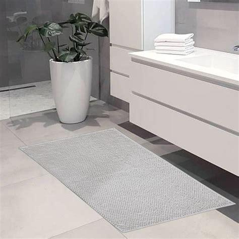 bagni grigi cool tris tappeto bagno ricciolo set pezzi grigio with