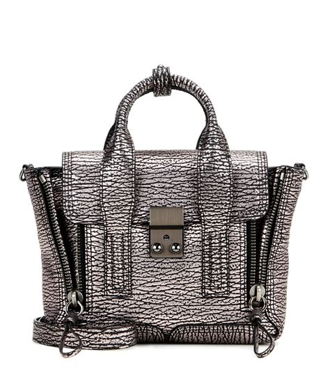 31 Phillip Lim Bag Shoulder Tote by Lyst 3 1 Phillip Lim Pashli Mini Metallic Leather