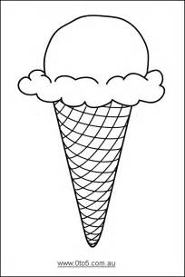 0to5 com au ice cream cone template suitable for young