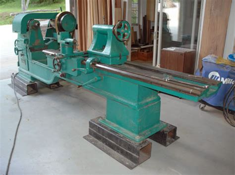 pattern makers wood lathe for sale photo index oliver machinery co 66 ac heavy gap lathe