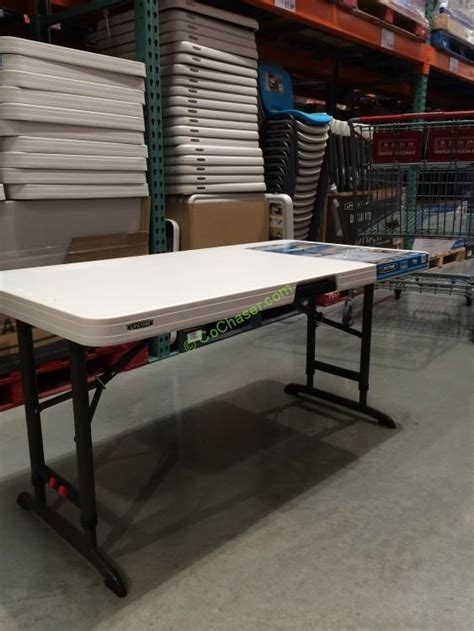 lifetime 4 ft table costco furniture costcochaser