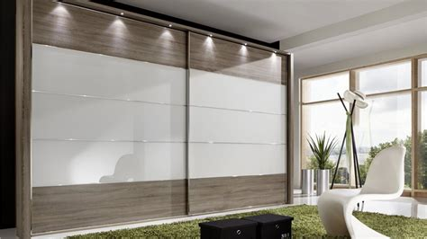 Glass Mirror Wardrobe Doors by Stylform Eos Sliding Doors Truffle Oak Glass Mirror Wardrobe Head2bed Uk