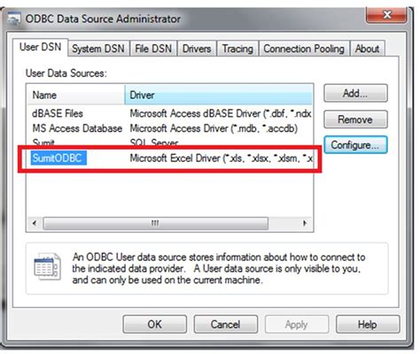 git tutorial with exle vba excel make excel file as odbc source database using