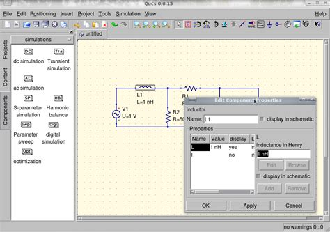 video tutorial qucs opentechlab fel qucs tutorial for beginners part1