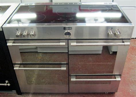 electric induction cooker for sale stoves sterling 1100 ei stainless steel electric range cooker induction hob bilston dudley
