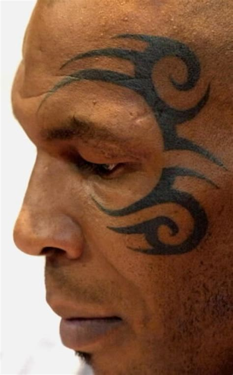cool face tattoos mike tyson s cool picture at