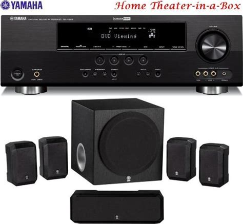 yamaha 3d ready 500 watt 5 1 channel home theater receiver