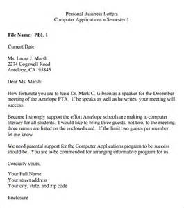 best photos of personal letter template word personal