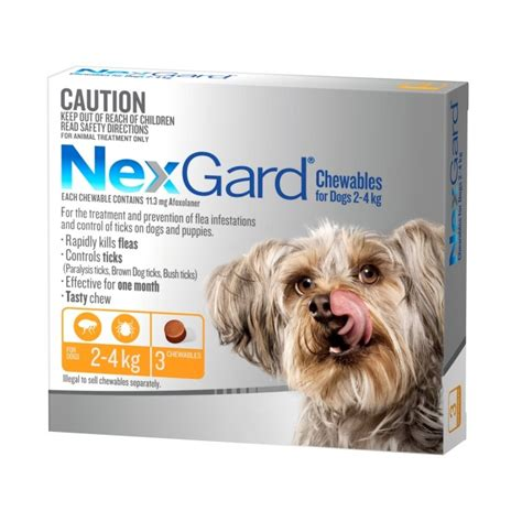 nexgard deaths nexgard flea and tick chew for small 2 4kg petbarn