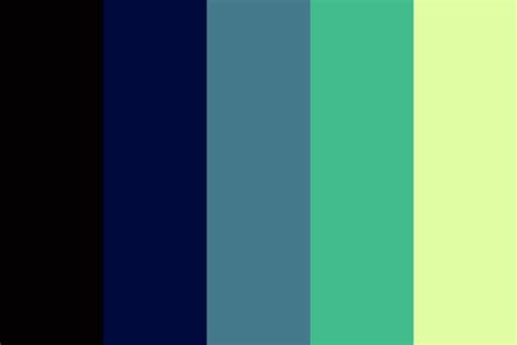 4 color palette northern light sky 4 color palette