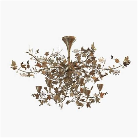 Porta Romana Ivy Shadow Chandelier Forest Gold 3d Model Forest Shadow Chandelier Price