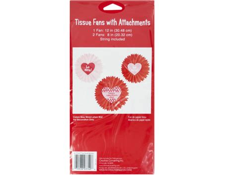 wholesale s day tissue fan hanging decorations