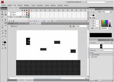 tutorial flash juego tutorial flash crear juego plataforma doovi