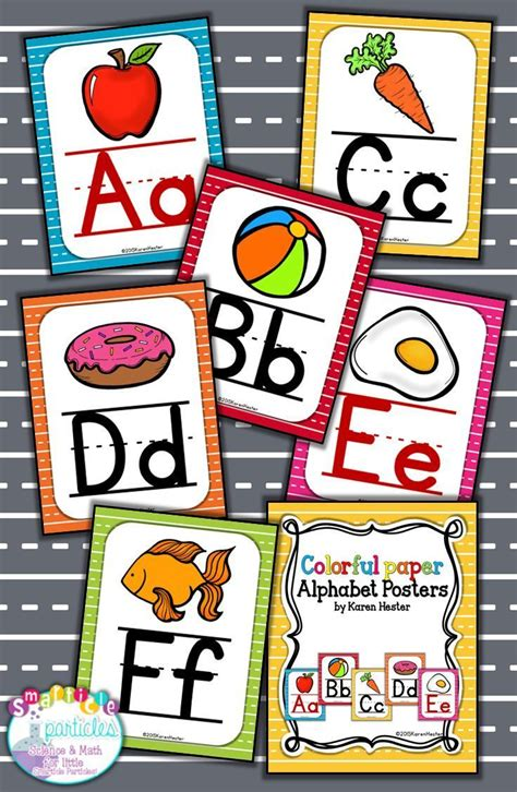 free printable alphabet banner for classroom alphabet posters colorful alphabet alphabet posters