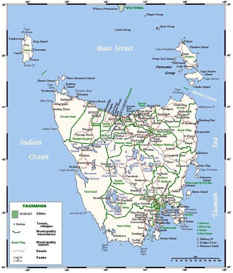 driving map of australia image gallery tasmania map