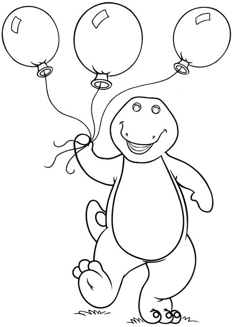 coloring pages barney printable barney coloring pages to download and print for free