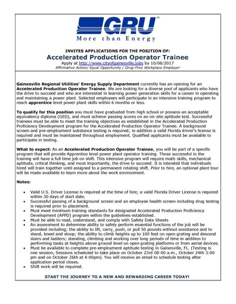 Production Operator by Production Operator Test Consultant Cover Letter