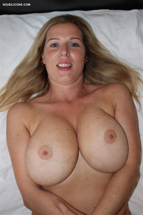Busty Blonde Amateur Britney From No Silicone Com Picture Of