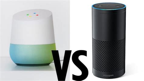 battle of the smart speakers google home vs amazon echo google home vs amazon echo which smart speaker will win