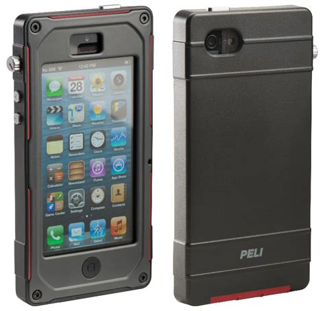 rugged products peli progear vault protection pour iphone 5 avcesar