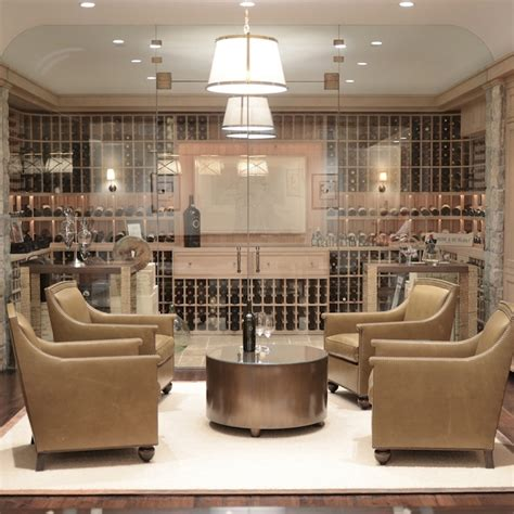 Modern House Wines by Wine Cellar Basement Giannetti Home