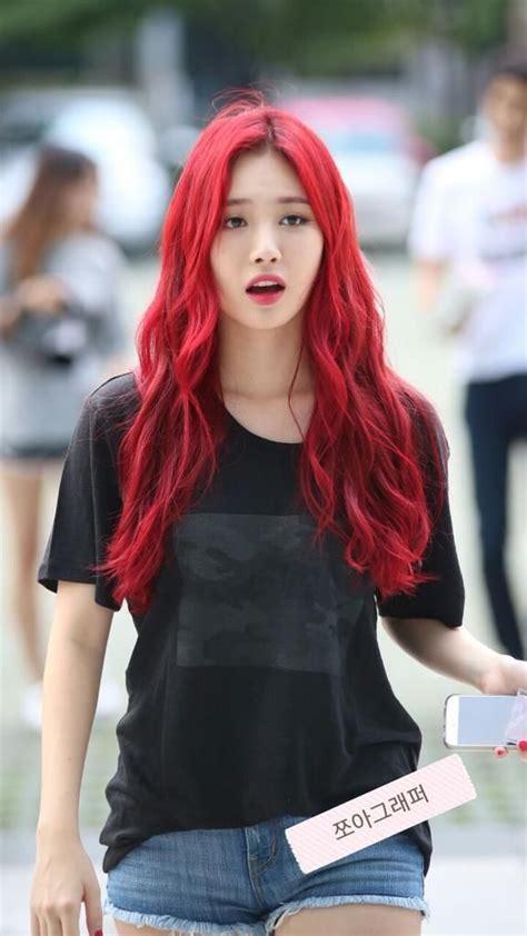 popular hair colour for korean craziest hair dyes female edition kpop korean hair and