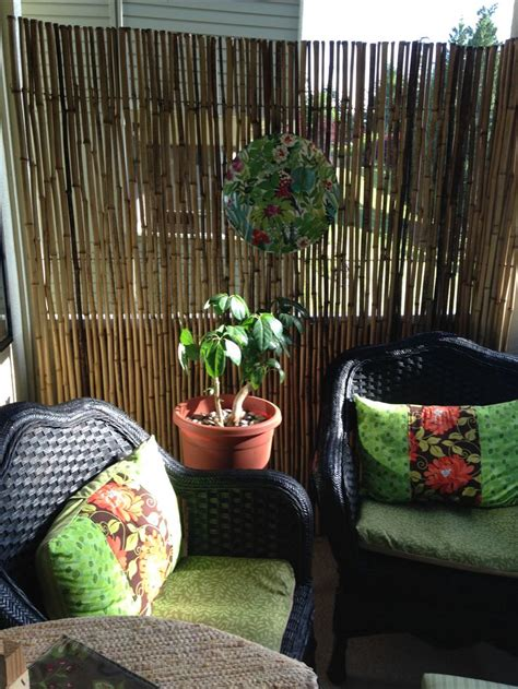 create  balcony privacy wall images  pinterest