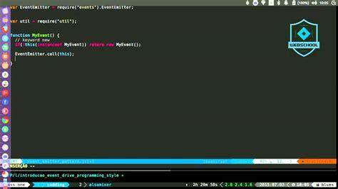 javascript queue pattern webschool io node js aula 1 introdu 231 227 o ao event emitter