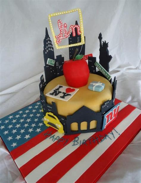 new york themed decorations new york themed cakes home theme ideas