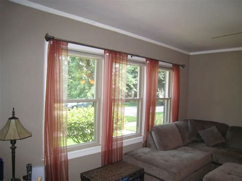 curtains for 3 windows in a row 3 windows in a row ideas for window treatments small