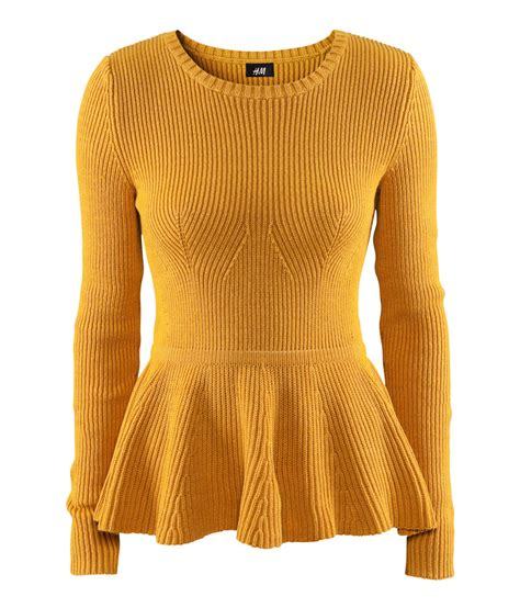 Jumper Bluefly 5 In 1 Kutung h m jumper in yellow lyst