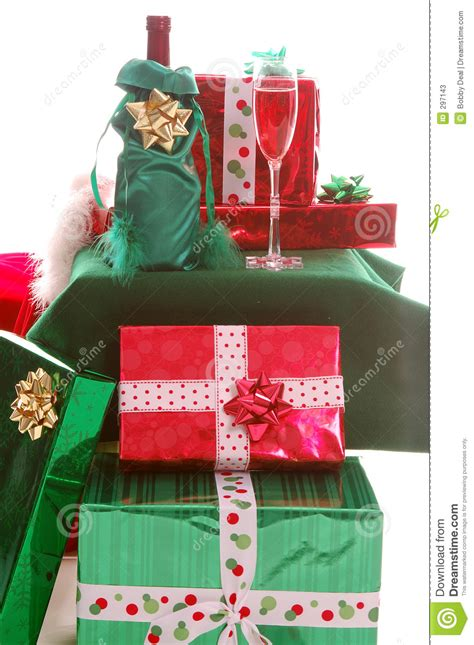 christmas gifts stock photos image 297143