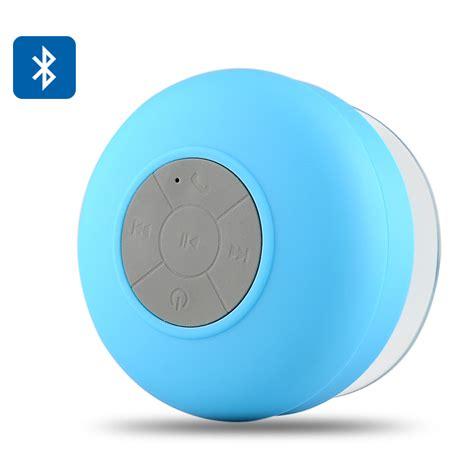 aquasound bts 06 bluetooth shower speaker ipx4 water
