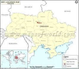 Ukraine World Map by Where Is Kiev Location Of Kiev In Ukraine Map