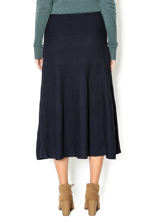 knit skirts yal ny a line knit flared skirt from new york by s