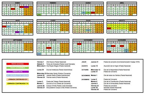 Calendario 2018 Granada Nuevo Calendario Laboral Para El Sector De La Construcci 243 N