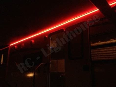 rv awning led light strip a1 rv led awning light set w ir remote control 24 key