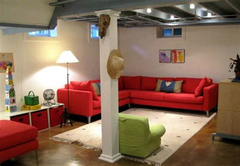 Make Your Basement Ideas So Cool Unfinished Basement Ideas 9 Affordable Tips Bob Vila