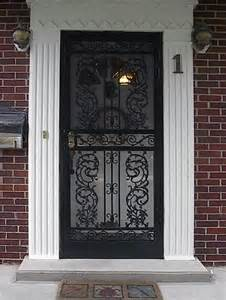 president black white pillars metalex security doors