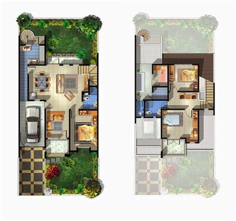 gambar desain denah rumah minimalis type 54 terbaru 2015 foto gambar desain rumah