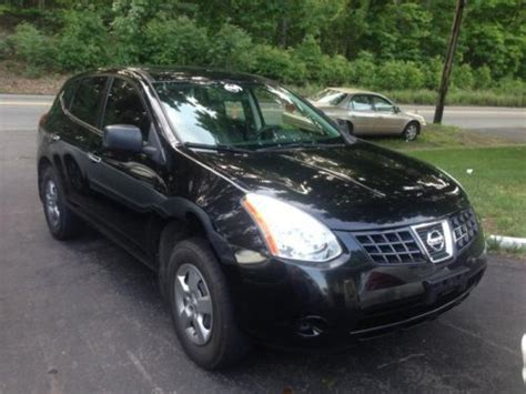 black nissan rogue 2010 buy used 2010 nissan rogue awd black on black