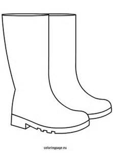 the boot kidz outline of wellington boot stencil for