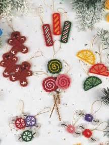 plastic canvas christmas sugarplum ornaments