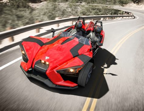 polaris introduced the 2015 new slingshot 2 seater three