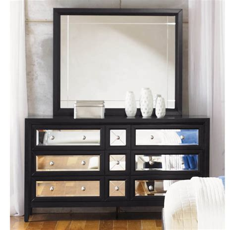 reflections bedroom set mirrored furniture the reflections bedroom set by