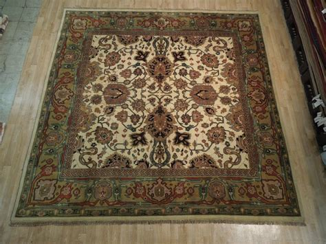 10 Square Area Rugs 10x10 Square New Oushak Wool Area Rug Ebay
