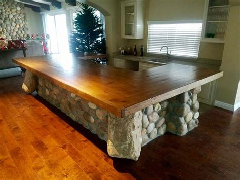 bar tops  kitchen island projects mortise tenon