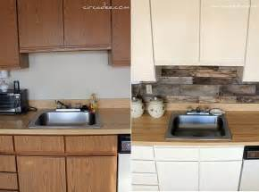 Rustic Kitchen Backsplash Top 20 Diy Kitchen Backsplash Ideas